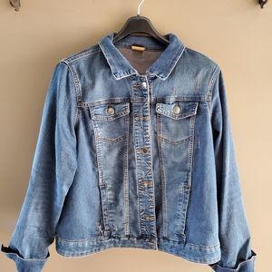 Love and Legend size 20 Jean jacket
